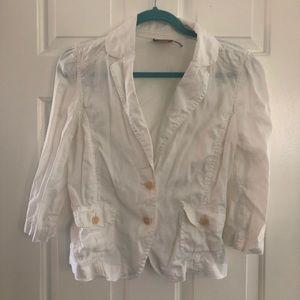 Juicy Couture linen jacket